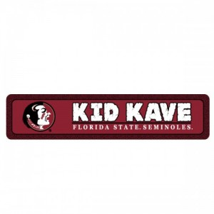 Florida State Kids Kave Sign