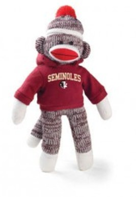 florida state sock monkey