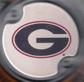 Georgia car coasters