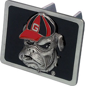 georgia bulldogs hitch cover