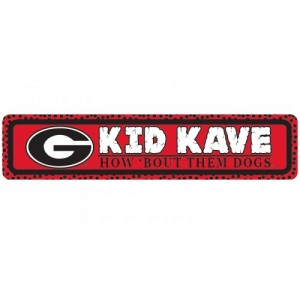 Georgia Kids Kave Sign