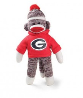 Georgia Bulldogs sock monkey