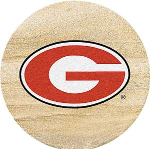 Georgia Bulldogs coasters
