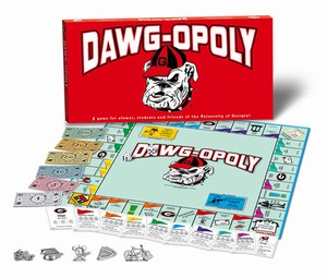 Georgia Bulldogs monopoly game