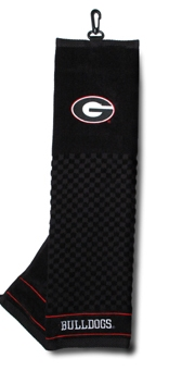 georgia bulldogs golf towel