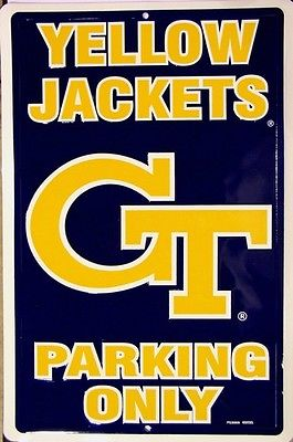 Georgia Tech Parking Sign