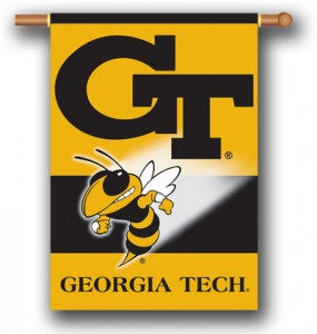 Georgia Tech House Flag
