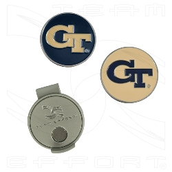 Georgia Tech Hat Clip and ball markers