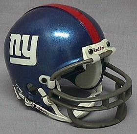 New York Giants Mini Helmet