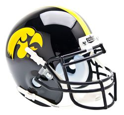 Iowa Hawkeyes mini helmet