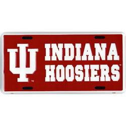 Indiana Hoosiers license plate