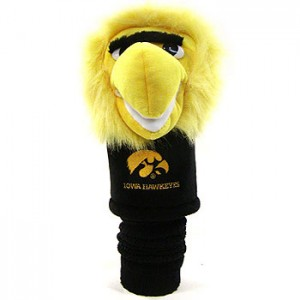 Iowa Hawkeyes head cover