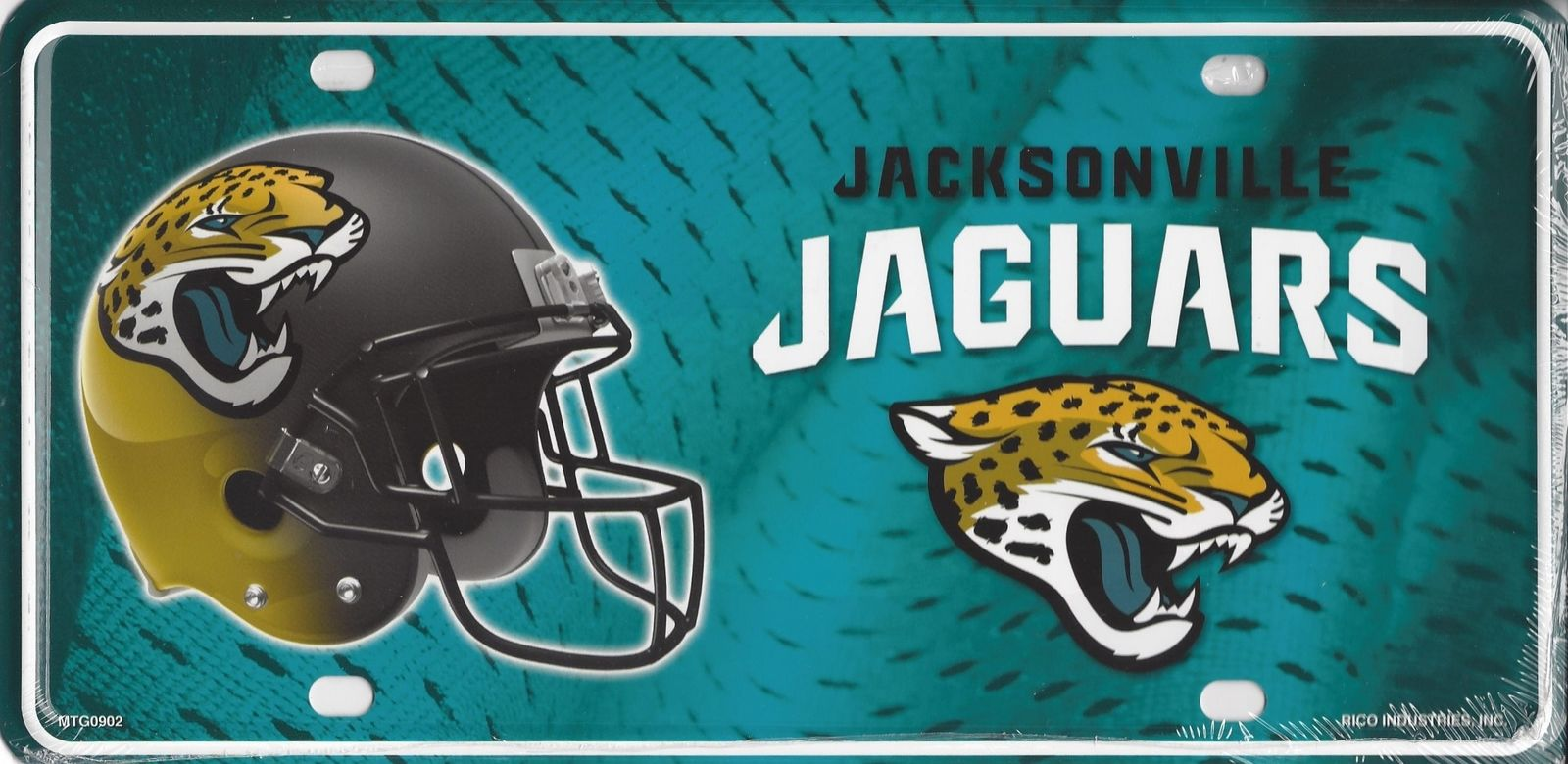 Jaguars-metal-license-plate