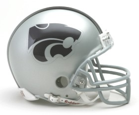 Kansas State mini helmet