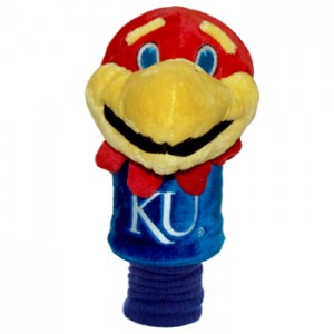 Kansas Jayhawks head cover