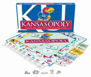 Kansas Jayhawks monopoly game