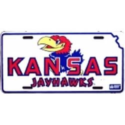 Kansas Jayhawks license plate