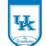 Kentucky Wildcats personalized house flag