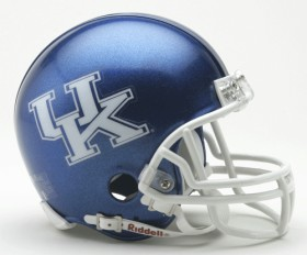 Kentucky Wildcats mini helmet
