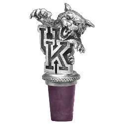 Kentucky Wildcats wine bottle stopper