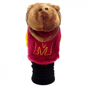 Maryland Terrapins head cover