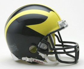 michigan mini helmet