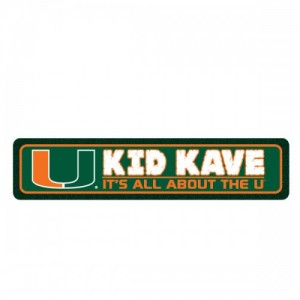 Miami Kids Kave Sign