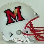 Miami of Ohio mini helmet