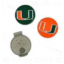 Miami Hurricanes ball markers