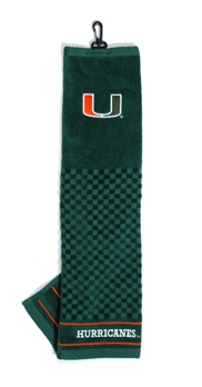 Miami Hurricanes Golf Towel