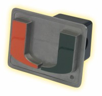 Miami Hurricanes hitch cover