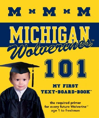 michigan 101 board book