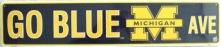 michigan wolverines street sign