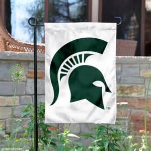 Michigan State garden flag