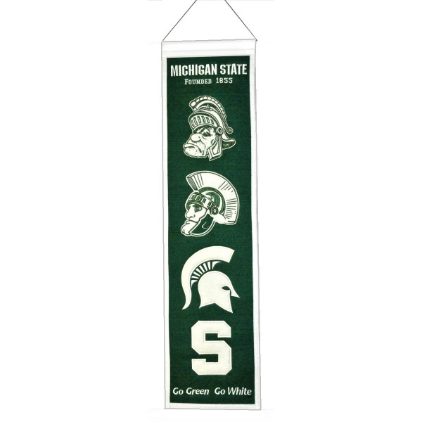 Michigan State heritage banner