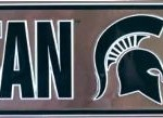 Michigan State street sign