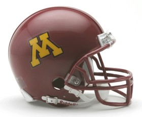 Minnesota Gophers Mini Helmet