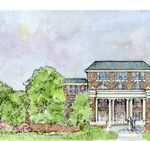 Mississippi State Campus watercolor