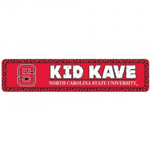 NC State Kids Kave Sign