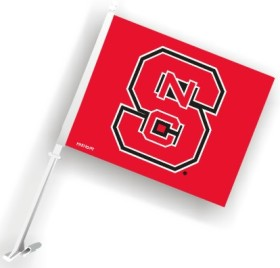 NC State car flag
