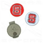 NC State golf ball markers