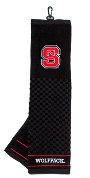 NC State golf towel