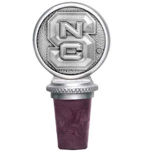 NC State Wine Bottle Stopper