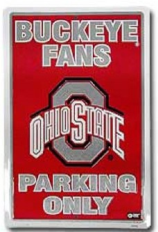 Ohio State Parking Sign