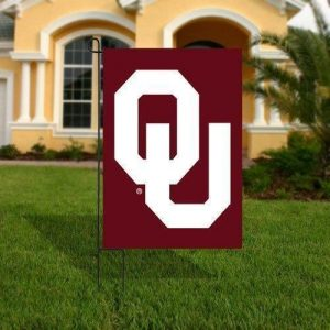 Double-Sided Appliqued Oklahoma Garden Flag