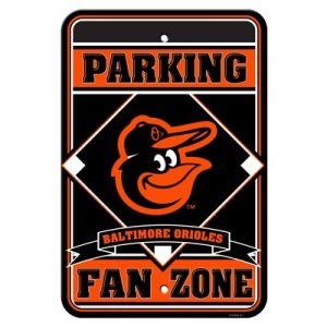 Baltimore Orioles Fan Zone Sign