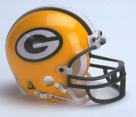 Green Bay Packers Mini Helmet
