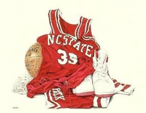 NC State Pack Power Print