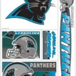 Carolina Panthers Decals