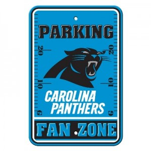 Carolina Panthers Parking Sign